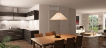 impressie interieur 8 halfvrijstaande woningen aangepast